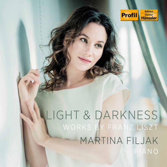"Martina Filjak ""Light and Darkness"" CD Cover"