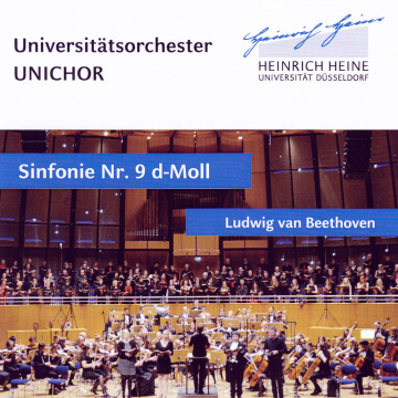 CD Cover: Universitätsorchester Unichor Sinfonie Nr. 9 Beethoven