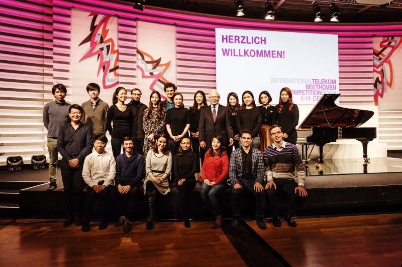 Teilnehmer Beethoven Competition