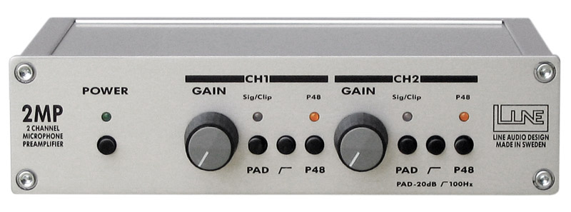 Line Audio 2MP Mikrofon Preamp