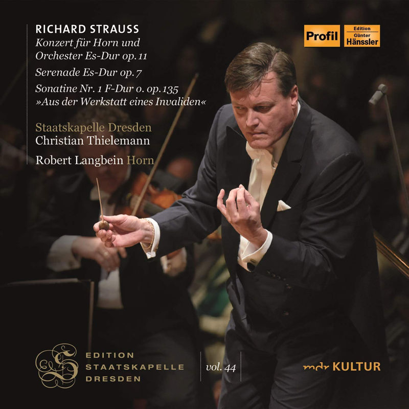 CD Cover: Staatskapelle Dresden – Strauss Thielemann