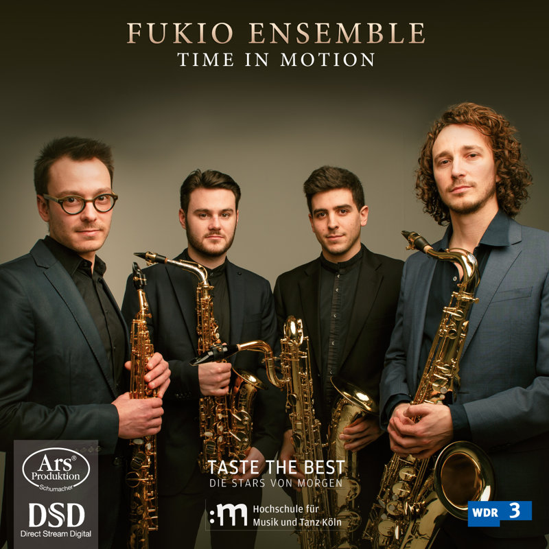 "CD Cover Fukio Ensemble ""Time in Motion"""