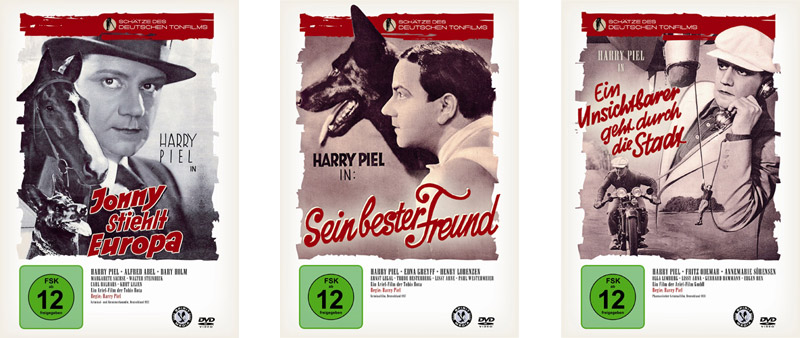 Filmrestauration Harry Piel DVD Cover