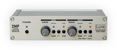 Line Audio 2MP Microphone Preamp - THS