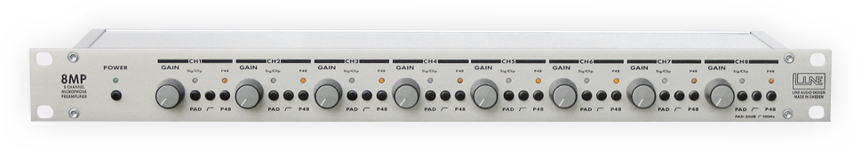 Line Audio 8MP Microphone Preamp - THS